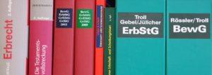 Leistungen Kanzlei Dr. Vachek Erbrecht Literatur
