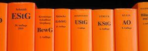 Steuerrecht Literatur