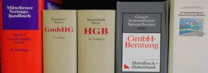 Leistungen Kanzlei Dr. Vachek Gesellschaftsrecht Literatur