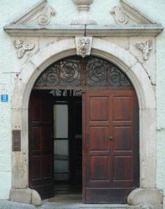Türe Passau alte Kanzlei