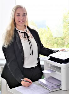 Kanzlei Dr. Vachek Rechtsanwälte Team Sekretariat Alice Gell